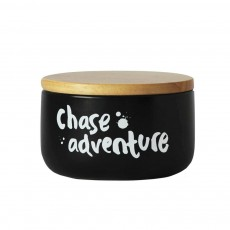 Chase Adventure Black White Canister