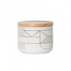 Gold Deco Small Canister