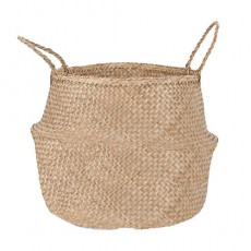 Seagrass Natural Large Belly Basket