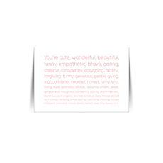 Youre Mine Quote Card