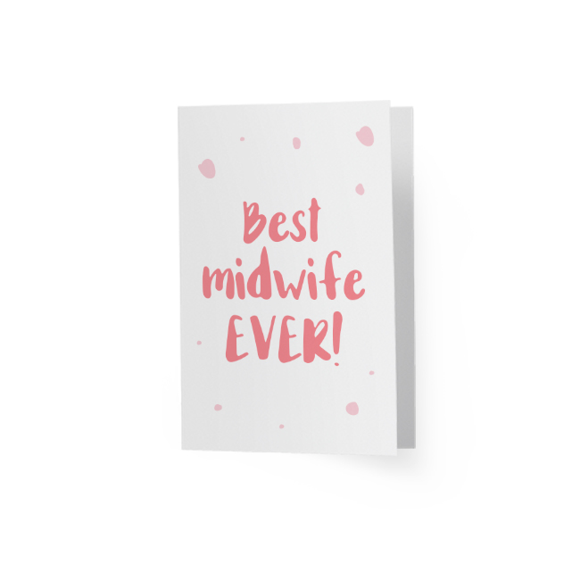 Best Midwife Ever Greeting Card