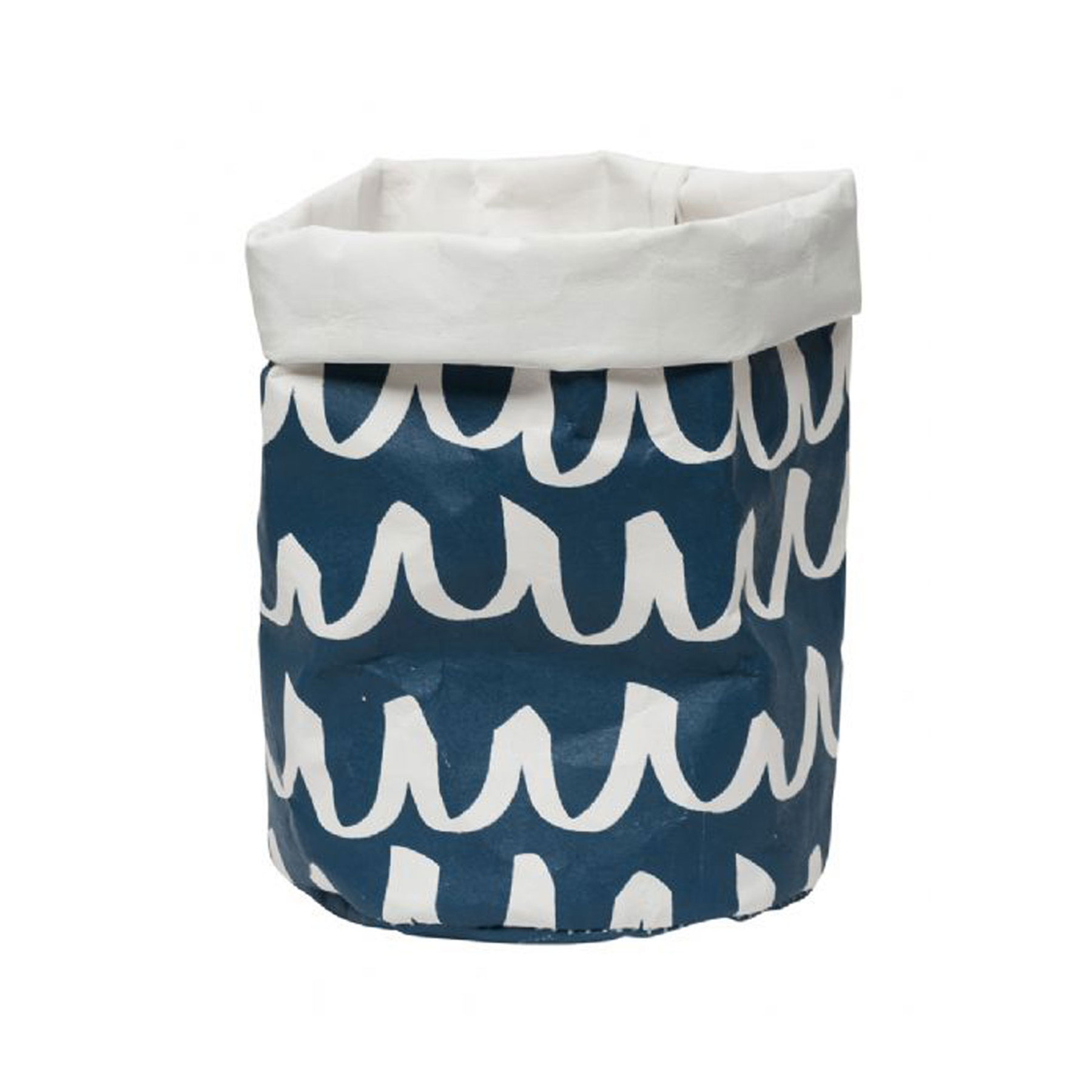 Blue Wave Small Wash Paper Bag