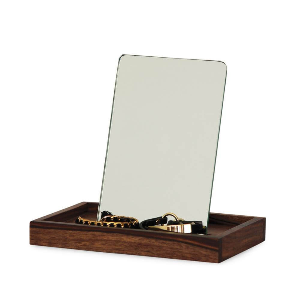 Jewellery Tray With Mirror