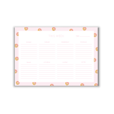 Glitter Gold A4 Weekly Planner