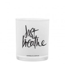 Just Breathe Damselfly Candle
