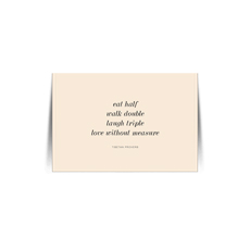 Tibetan Proverb Quote Card